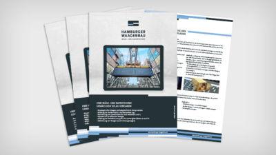 HWB - Wäge- und Datentechnik gemäß den SOLAS Vorgaben - Datenblatt