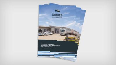 HWB – Eichfahrzeug und Gewichtsnormale – Präzision bis zu 60 Tonnen - Broschüre