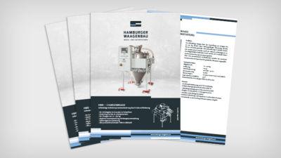 HWB – Chargenwaage - Datenblatt