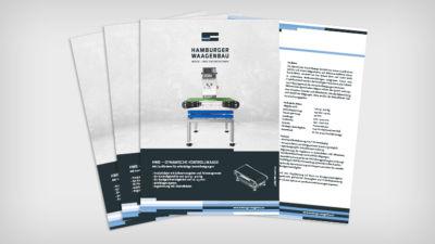 HWB – Dynamische Kontrollwaage - Datenblatt