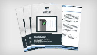 HWB – Ultraschallsensoren - Datenblatt