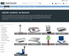 Hanse Waagen Onlineshop